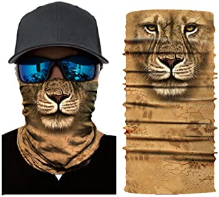 Aadiju Seamless Face Mask Bandana for Dust Headband Magic Scarf Head Wrap Neck Warmer