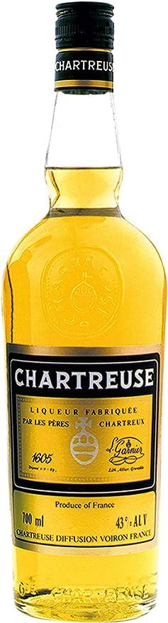 Chartreuse Liqueur Jaune 43% - 700 ml