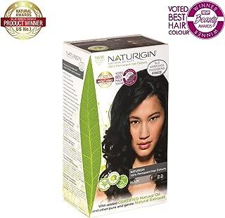 Naturigin Hair Colour - Permanent - Black - 1 Count (Pack of 2)