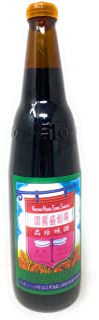 Kwong Hung Seng Black Soy Sauce 21oz (1pt. 5oz), 1 Pack