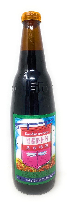 Kwong Hung Seng Black Soy Max 89% OFF Sauce 21oz 1pt. Pack Classic 5oz 1