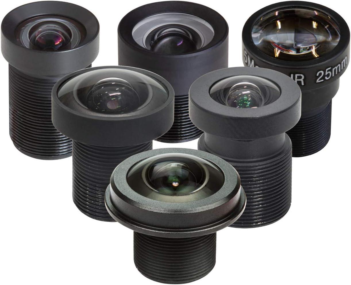 Arducam M12 Objektiv Set Für Raspberry Pi Hq Kamera Kamera