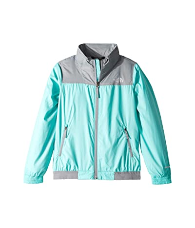 The North Face Kids Windy Crest Jacket (Little Kids/Big Kids) (Mint Blue) Girl
