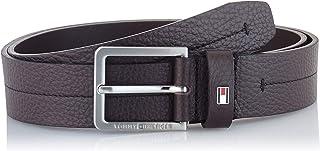 Tommy Hilfiger Men's Modern Pebble Leather Belt 3.5, 42 (size:)
