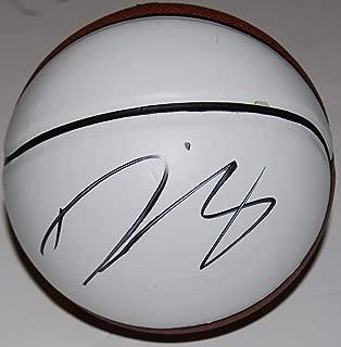 Signed Diana Taurasi Ball - PHOENIX MERCURY Mini white pannel W COA #2 - Autographed WNBA Basketballs