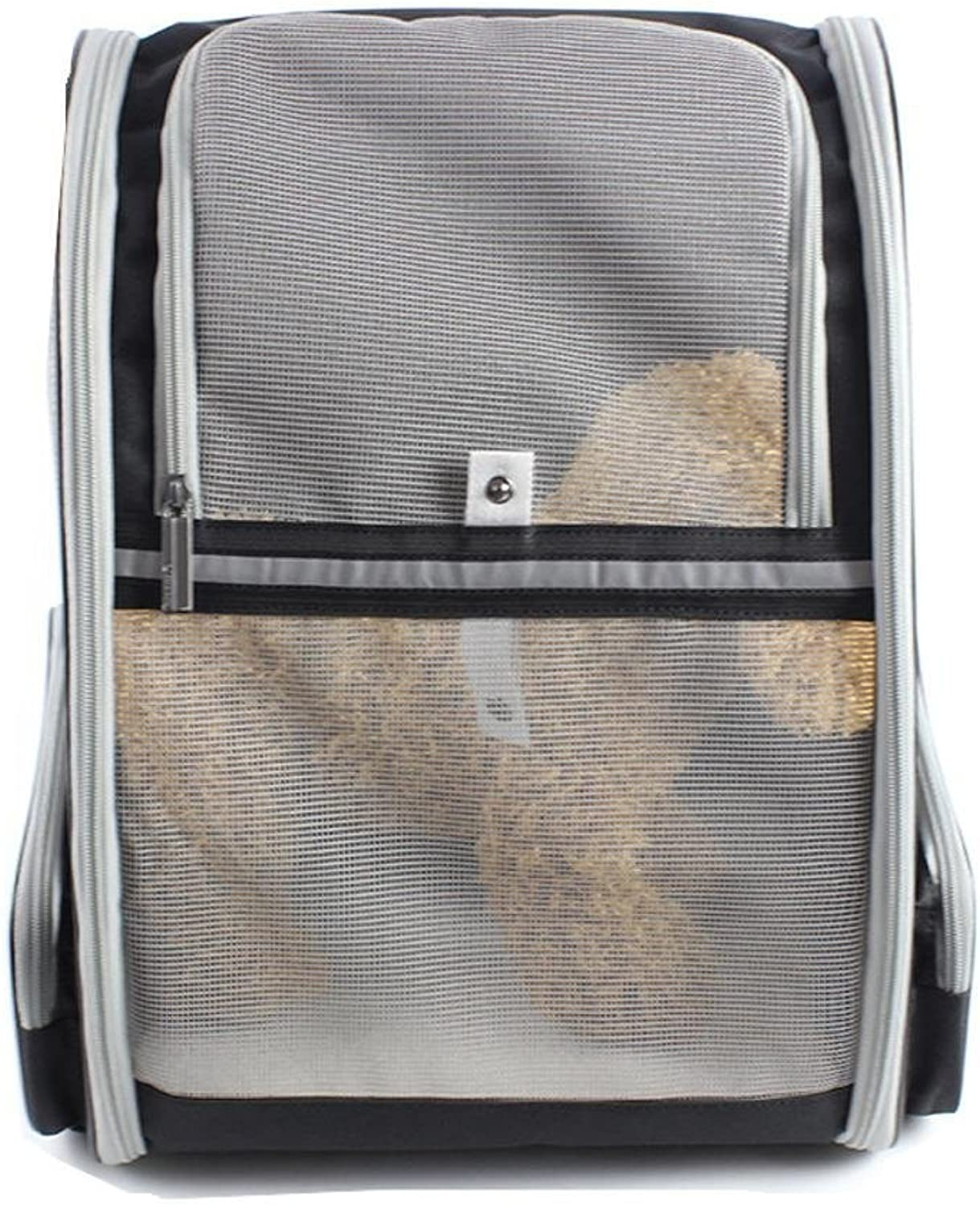 Pet Travel Carrier Pet Backpack Out Convenient Dog Fengliang Breathable Travel cat Bag Pet Supplies Foldable pet Transport Bag Suitable for Pets Around 46 kg Ourtdoor Pet Bag