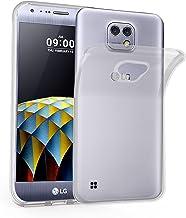 Cadorabo Funda para LG X CAM en Transparente – Cubierta Proteccíon de Silicona TPU Delgada e Flexible con Antichoque – Gel Case Cover Carcasa Ligera