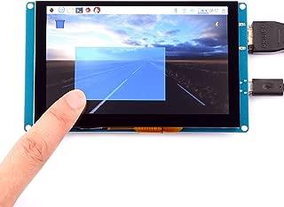 GeeekPi 5 Inch Capacitive Touch Screen 800x480 HDMI Monitor TFT LCD Display for Raspberry Pi 3/2 Model B/B+/Pi Zero & BeagleBone Black & PC