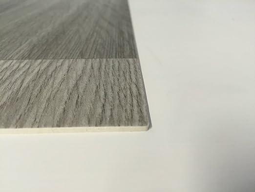 PVC-Belag verf/ügbar in der Breite 2 m /& in der L/änge 2,0 m PVC Vinyl-Bodenbelag in der Optik grau anthrazit Holz Planke CV-Boden wird in ben/ötigter Gr/ö/ße als Meterware geliefert