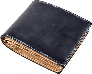 [ラファエロ] ブライドルレザー 二つ折り財布 メンズ