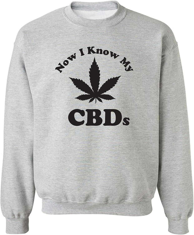 Now I Know My CBDs Crewneck Sweatshirt