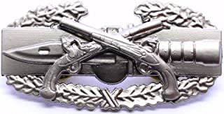 Pin for Jackets - Military Police Combat Action Badge US Army MP CAB Pistols Insignia Pin - Accessories for Men and Women