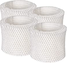 Future Way Humidifier Filters A Compatible with Honeywell HCM350B, HCM350W, HAC-504, HAC-504AW, 4 Packs Humidifier Wick Fi...