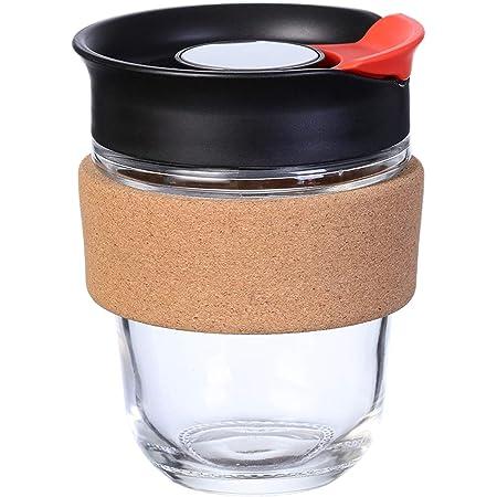 KeepCup Brau Wiederverwendbar Glas Kaffee Tasse Becher mit Kork Band 227ml//