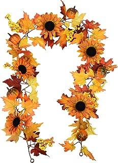 Best fall garland with pumpkins Reviews