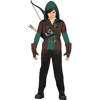 Guirca- Disfraz arquero, Talla 7-9 años (85705.0): Amazon.es ...