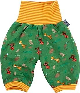 Pantalones de beb/é para Primavera y Verano 3//4 dise/ño de Animales Color Verde y Amarillo Fabricado en Alemania. Unisex Talla 50//56-134//140 Lilakind