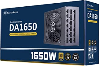 SilverStone Technology DA1650, 1650W Fully Modular ATX Power Supply, 80 Plus Gold, SST-DA1650-G