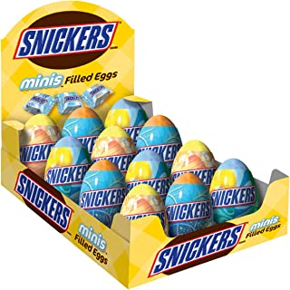 Snickers Minis Filled Eggs, 0.9-Ounce Eggs (Pack of 12)