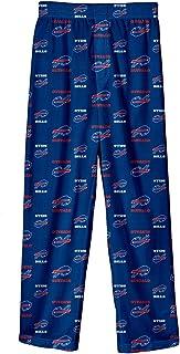 Outerstuff Buffalo Bills Youth NFL All Over Team Logo Pajama Sleep Pants