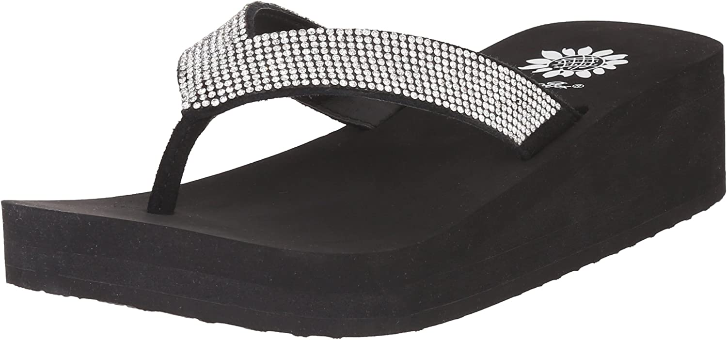 Yellow Box Women's Cliff Wedge Flip Flop