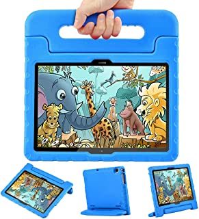 LEEBOSS Kids Case for Huawei MediaPad T5 (10.1 inch), Shockproof Light Weight Protective Handle Stand Kids Cover for Huawe...