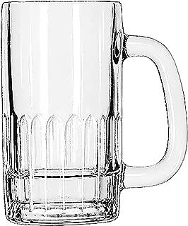Libbey 5309 Clear 12 Ounce Beer Mug - 24 / CS