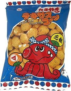 Texas Corn Takoyaki Sauce Taste 0.4oz 30Bags Japanese Snack Matsuyamaseika Ninjapo