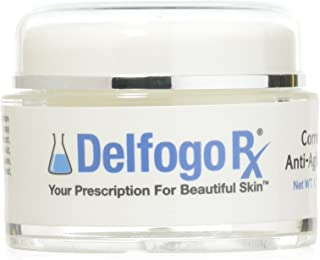 Delfogo Rx Corrective Anti-Aging Mask | Enriched with Peptides and Antioxidants | Revitalizing Gel with SNAP-8, Matrixyl 3000, Palmitoyl Oligopeptide, and Hyaluronic Acid