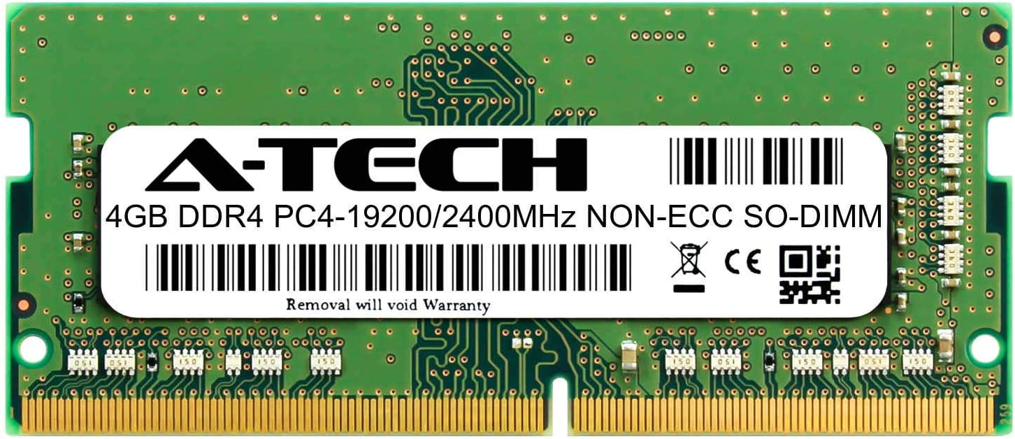 A-Tech 4GB Module Los Angeles Mall for Dell Inspiron Large discharge sale 15 5570 2400 Compatible DDR4
