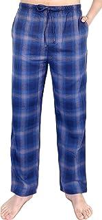 Pantalón de Pijama para Hombre 100% algodón Tejido Franela Casual y cómodo