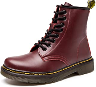 Koask Women's Round Toe Lase-up Ankle Boots Ladies...