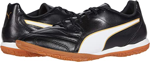 Puma Black/Puma White/Gold