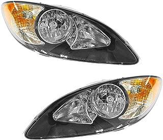 Headlight Headlamp LH Left RH Right Pair Set for 09-12 International ProStar