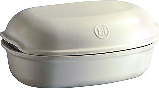 Emile Henry Linen Artisan Bread Baker, 13.6 x 8.9 x 3.4in