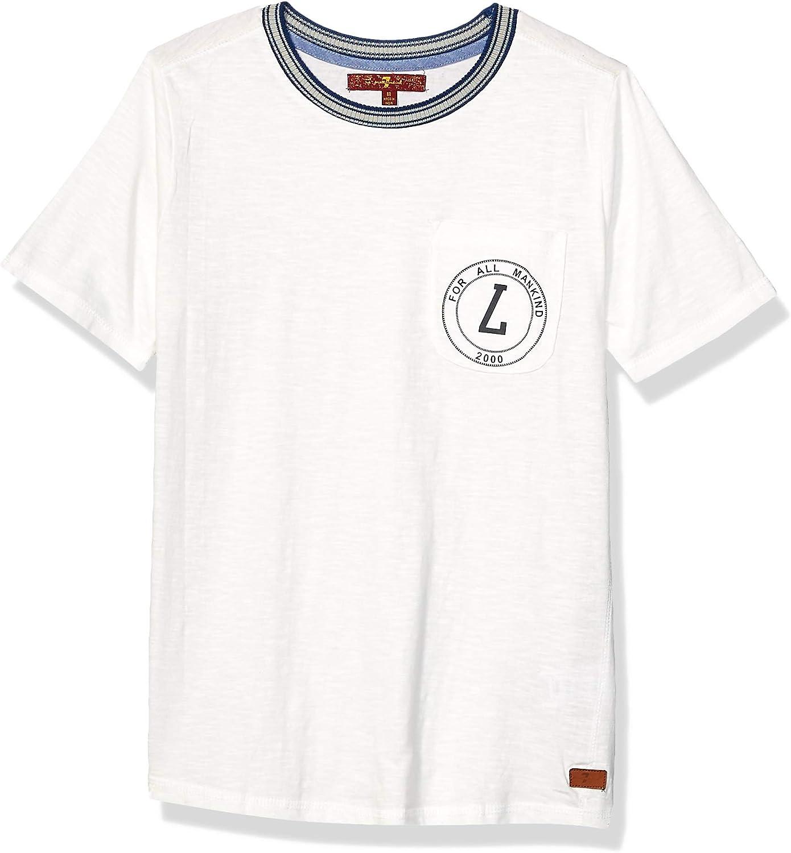 7 For All Mankind Boys' Short Sleeve T-Shirt