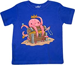 Inktastic Cute Octopus and Buried Treasure Toddler T-Shirt
