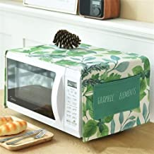 HHYK Ropa de algodón Horno de microondas Cubierta de Polvo Accesorios Cocina de la Cocina de microondas hogar a Prueba de Agua Horno Cubierta (Color : Sunmmer)