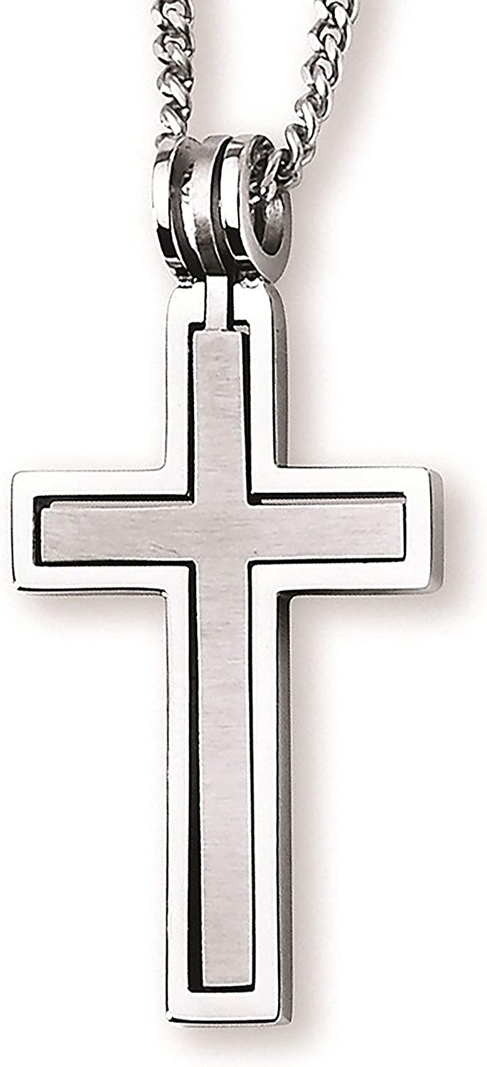 Stainless Steel Hinged Cross-within-a-Cross 1-3/4