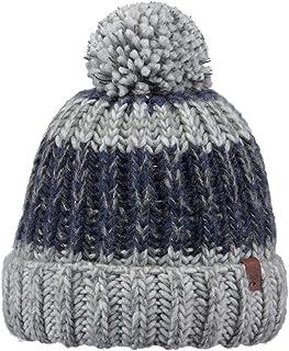 15ad1ea957 BARTS Bonnet à Pompon Cole Noir-Bleu