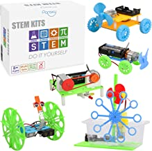5 Set STEM Kit,DC Motors Electronic Assembly Kit for Kids DIY STEM Toys Intro to..
