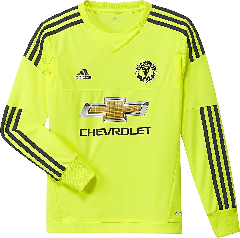 Adidas 2015-2016 Man Utd Away Goalkeeper Shirt (Kids)