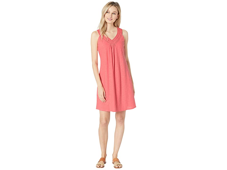 Tommy Bahama Arden Embroidered Sleeveless Sundress (Dubarry Coral) Women