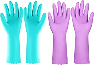 dishwashing gloves large