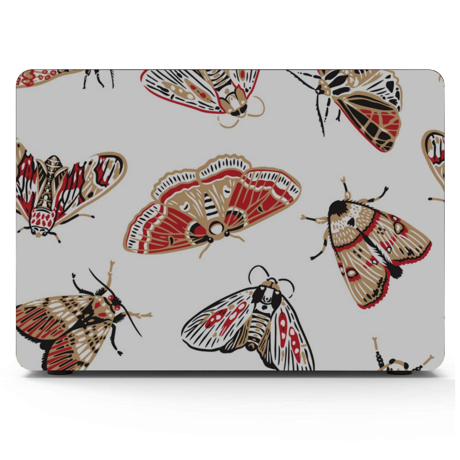 Hermosa y Brillante Polilla de Dibujos Animados Macbook Air/Pro 11/12/13/15 Inch Estuche de plástico Estuche rígido Carcasa Macbook Pro Fundas Macbook Air Keyboard Protector Apple Computer Cover: Amazon.es: Electrónica