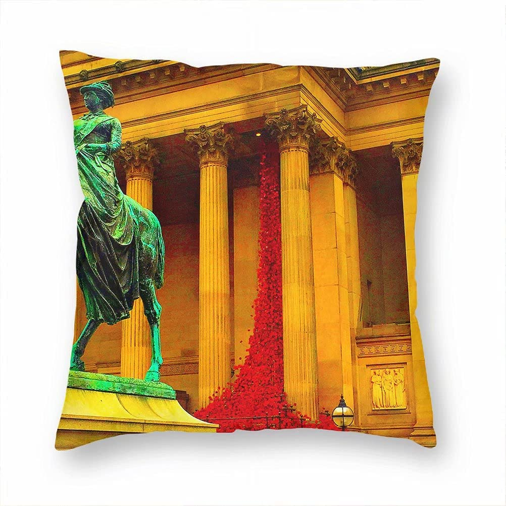 UK England St At the New life price of surprise George's Hall Case Pillow Cus Decorative Liverpool