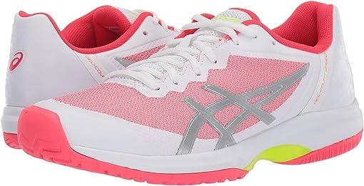 White/Laser Pink