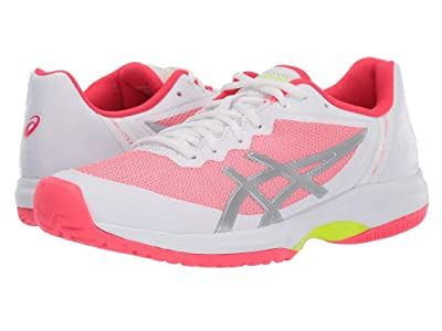 ASICS Gel-Court Speed (White/Laser Pink) Women