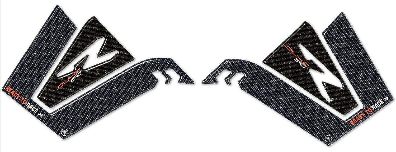 kit ADESIVI resina 3D PROTEZIONI SERBATOIO per moto compatibile con KTM 890 DUKE R