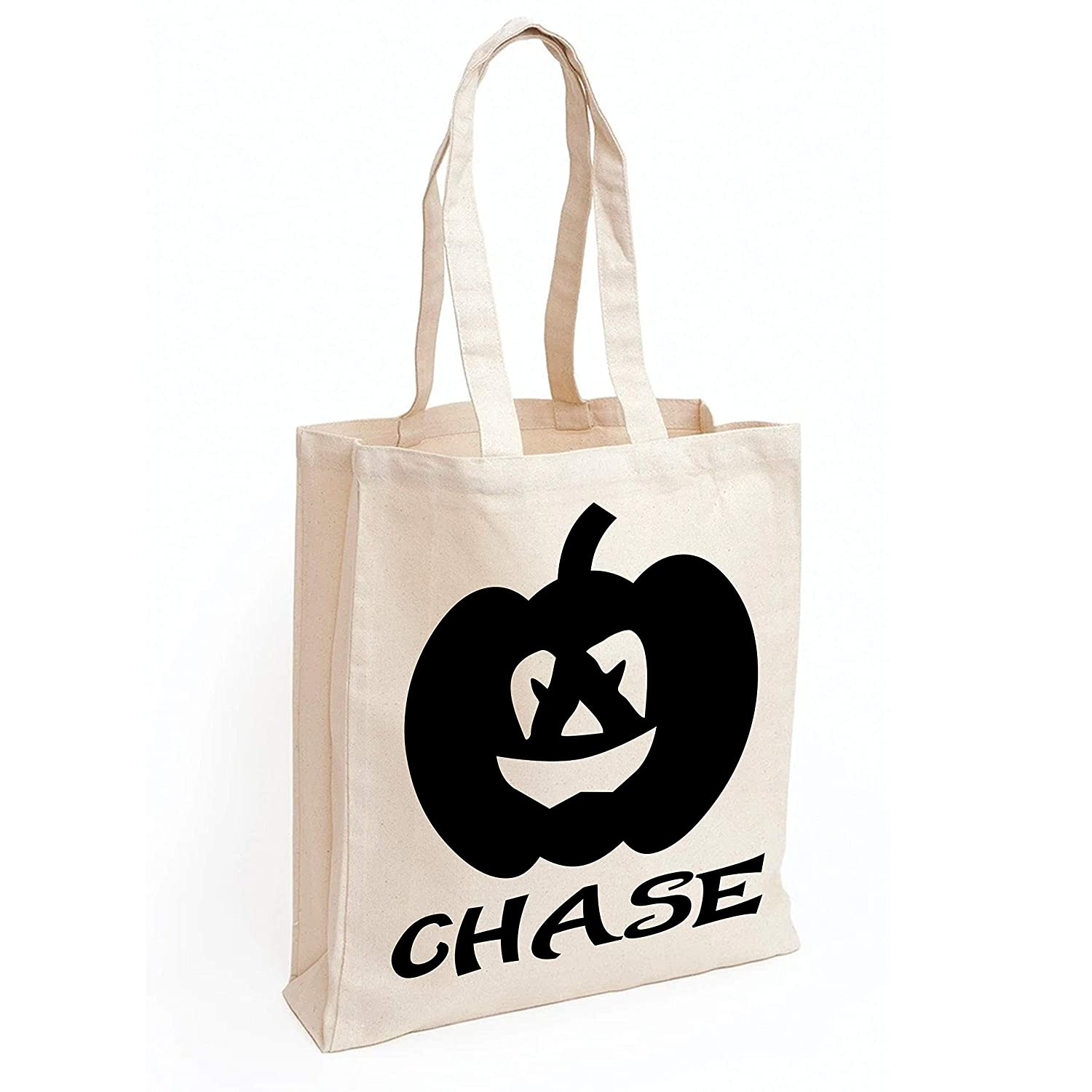 Personalized Max 49% OFF Trick or Treat Bag safety Halloween Candy Pumpkin -